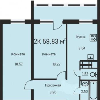 Дом на ул. Иньвенская (Пермь) – планировка №2