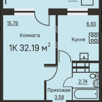 Дом на ул. Костычева (Пермь) – планировка №6