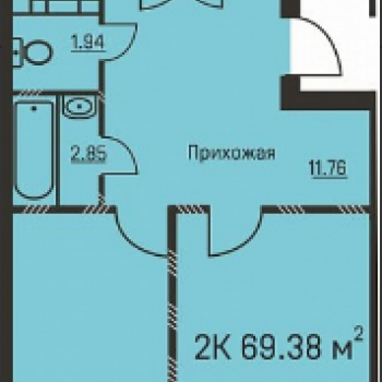 Дом на ул. Костычева (Пермь) – планировка №4