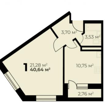 Дом на ул. Цимлянская (Пермь) – планировка №3