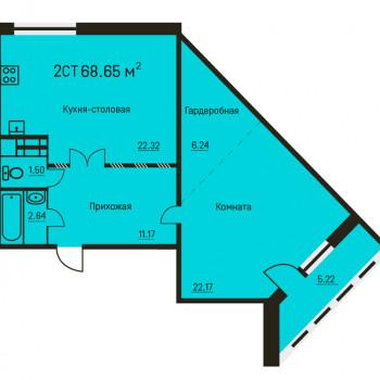 Дом на ул. 5-ая Каховская (Пермь) – планировка №3