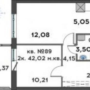 ЖК Иволга (Петрозаводск) – планировка №3