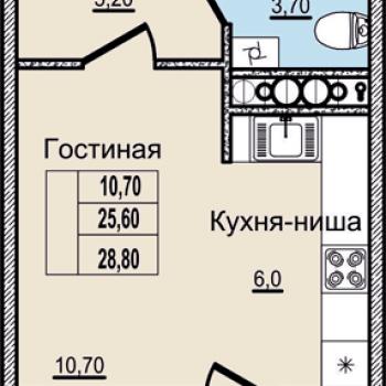 ЖК Молодежный (Псков) – планировка №2