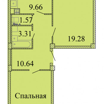 ЖК Родина (Псков) – планировка №13