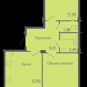 ЖК Околица (Псков) – планировка №3