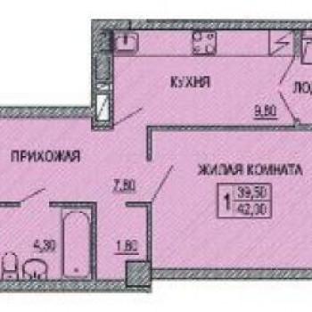 ЖК Созвездие (Ростов-на-Дону) – планировка №1