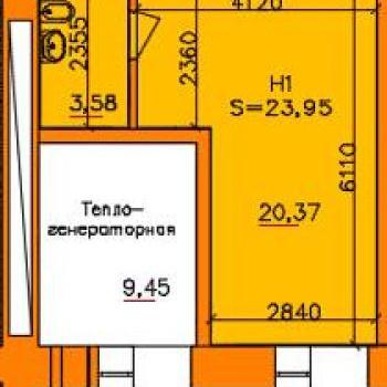 ЖК Ломоносов (Рязань) – планировка №2