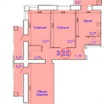 Дом по улице Вокзальная (Рязань) – планировка №2