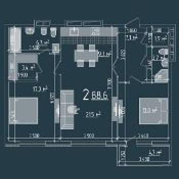 Резиденция Ника Парк (Рязань) – планировка №3