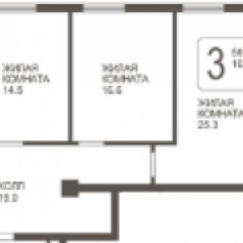 ЖК Парк Победы (Самара) – планировка №2
