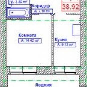 ЖК Новая Тверская (Самара) – планировка №1