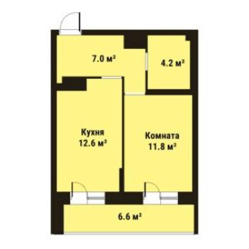 ЖК Прагма Сити (Санкт-Петербург) – планировка №2