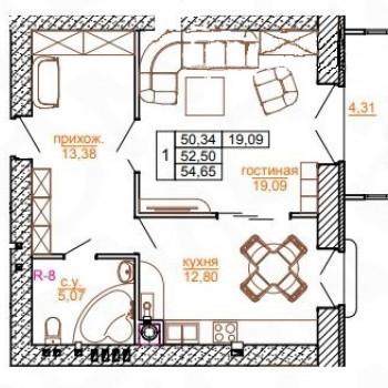 Дом на ул. Кутякова (Саратов) – планировка №3