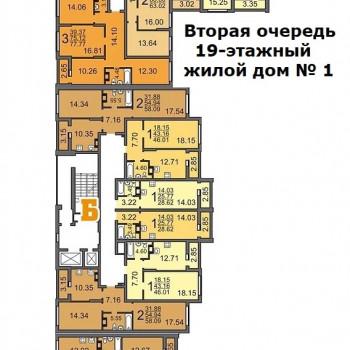 Дом на ул. Топольчанской (Саратов) – планировка №8