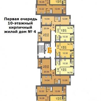 Дом на ул. Топольчанской (Саратов) – планировка №7