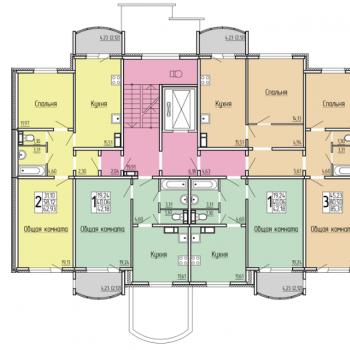 ЖК 7-ой микрорайон (Саратов) – планировка №7