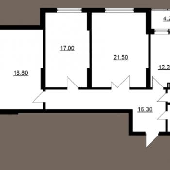 Дом на Волге (Саратов) – планировка №6