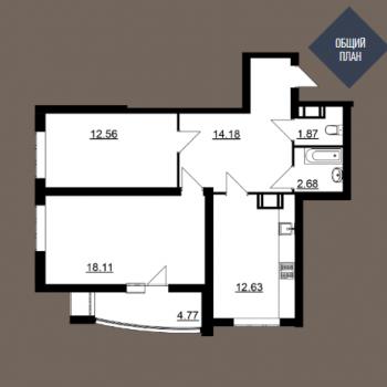 Дом на Волге (Саратов) – планировка №4
