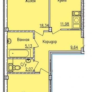 Дом по ул. Вяземская (Смоленск) – планировка №3
