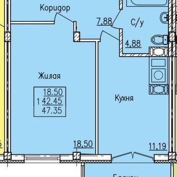 Дом по ул. Вяземская (Смоленск) – планировка №4
