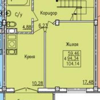 Дом по ул. Вяземская (Смоленск) – планировка №2
