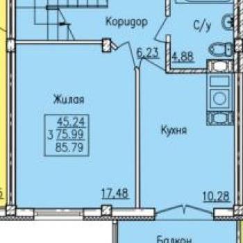 Дом по ул. Вяземская (Смоленск) – планировка №6