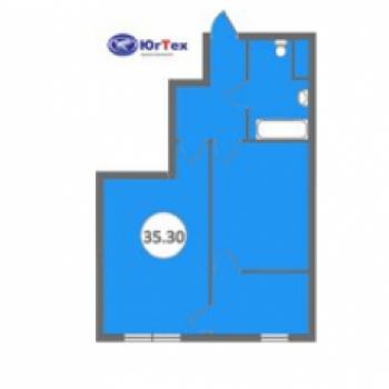 ЖК Голубые дали (Сочи) – планировка №1
