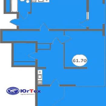 ЖК Голубые дали (Сочи) – планировка №3