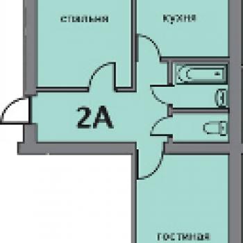 ЖК Изумрудный город (Ставрополь) – планировка №3