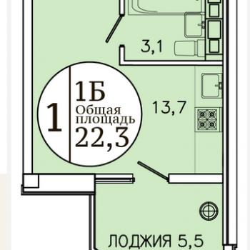 ЖК Привилегия (Ставрополь) – планировка №4