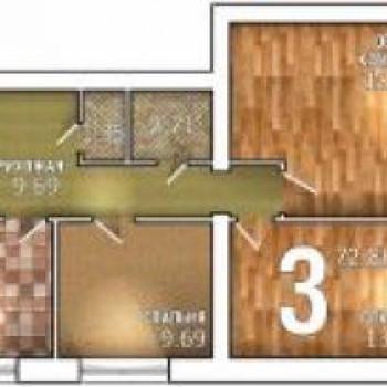 ЖК Тысяча квартир (Тамбов) – планировка №2