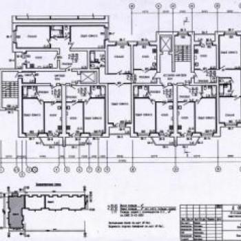 Дом на Интернациональной (Тамбов) – планировка №1