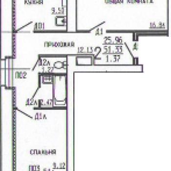 Дом на ул. Киквидзе (Тамбов) – планировка №3