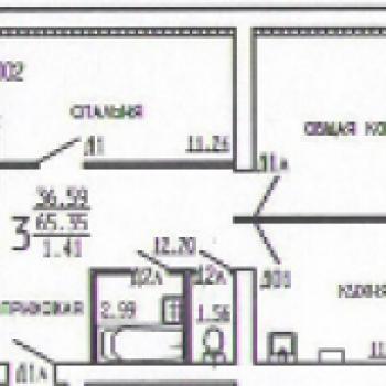 Дом на ул. Киквидзе (Тамбов) – планировка №2