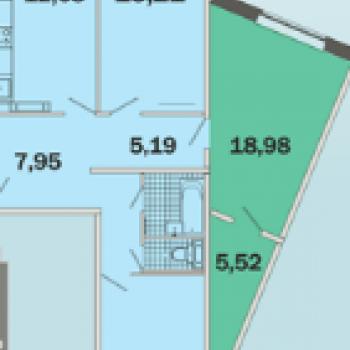 Микрорайон Зеленые горки (Томск) – планировка №2