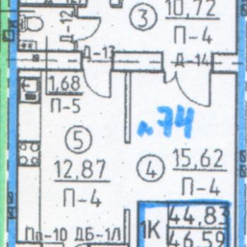 Дом по ул. Некрасова (Томск) – планировка №1