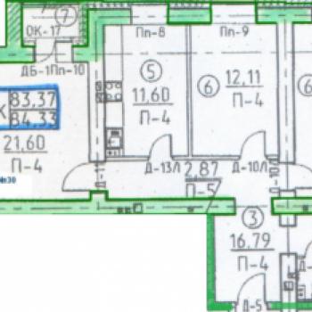 Дом по ул. Некрасова (Томск) – планировка №3