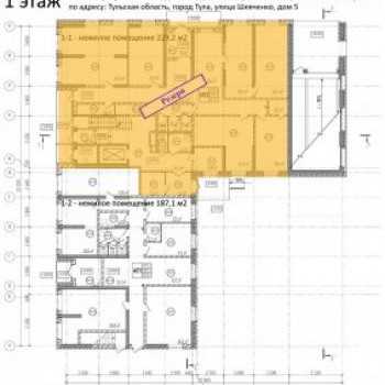 ЖК Аврора (Тула) – планировка №4