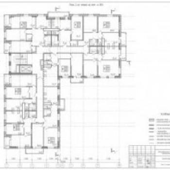 ЖК Аврора (Тула) – планировка №3