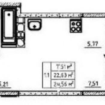 ЖК Ваш дом (Тула) – планировка №1
