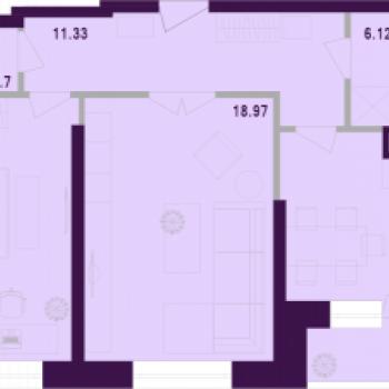 ЖК Космос (Тула) – планировка №2