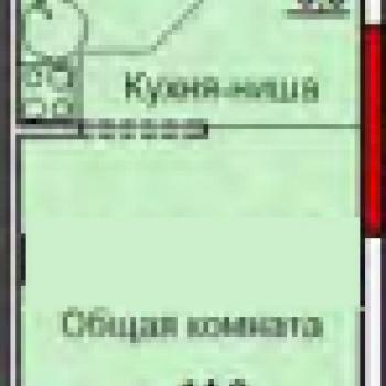 ЖК Левобережный (Тула) – планировка №1