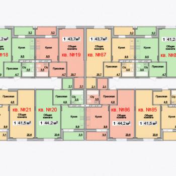 ЖК Айсберг (Тула) – планировка №8