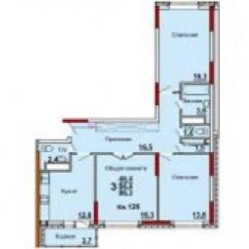 Микрорайон Юго-Восточный (Тула) – планировка №3