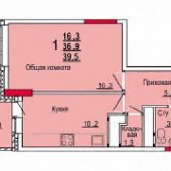 Микрорайон Юго-Восточный (Тула) – планировка №1