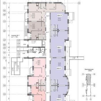 ЖК Кристалл (Тула) – планировка №5