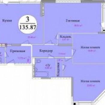 ЖК Первомайский (Тула) – планировка №3