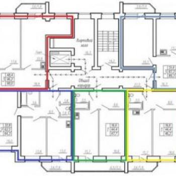 ЖК Центральный (Тюмень) – планировка №2