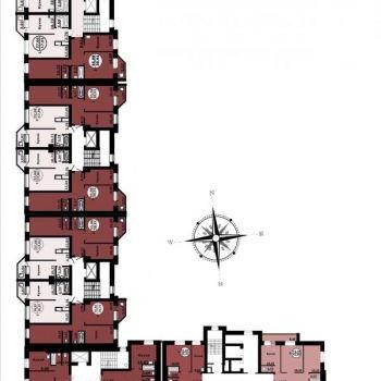 ЖК Просторный (Тюмень) – планировка №1