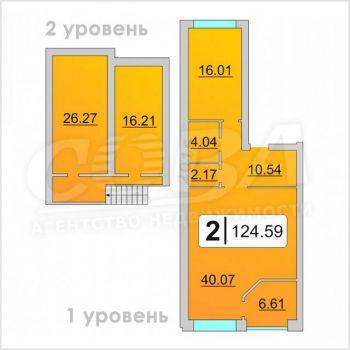 ЖК Комфорт - клуб (Тюмень) – планировка №5